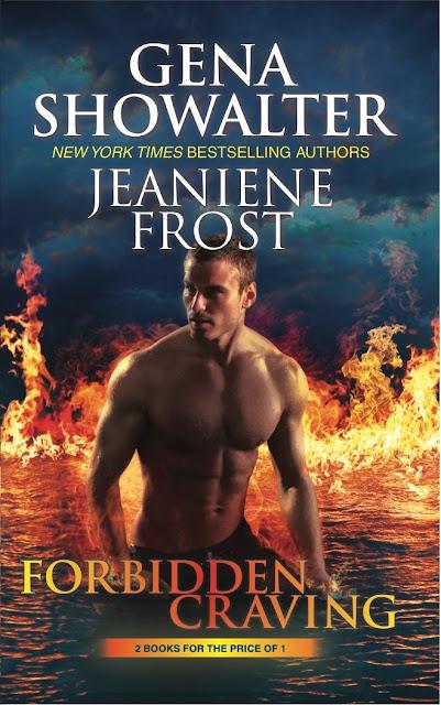 Portada OFICIAL de Forbidden Craving, antología de Jeanie Frost y Gena Showalter