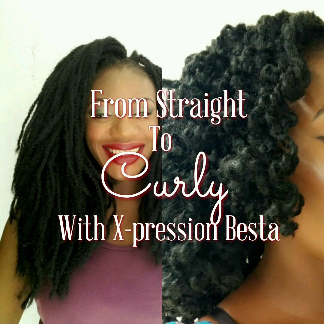 From Straight To Curly With Xpression Besta