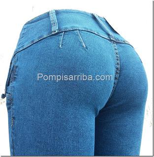 Pompis arriba jeans pantalon colombiano pantalon americano de mayoreo
