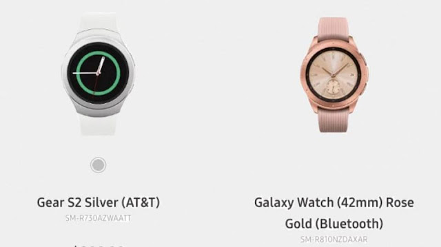 Samsung Accidentally Leaks New Galaxy Watch Product On Its Website