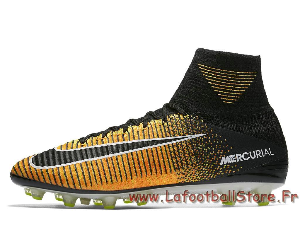 finest selection 8676d 5b470 Nike Mercurial Superfly V AG-PRO Volt 831955 801. Couleur  Orange laser  Blanc Volt Noir style 831955 801