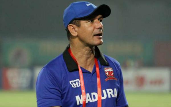 Pelatih Madura United Puas Timnya Menang 3 - 0 Lawan PSS Sleman