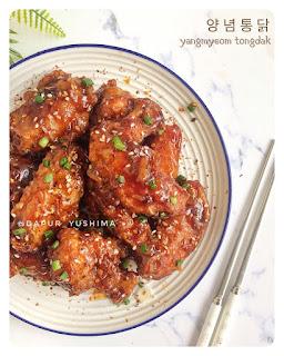 Ide Resep Masak Ayam Yangmyeom Tongdak