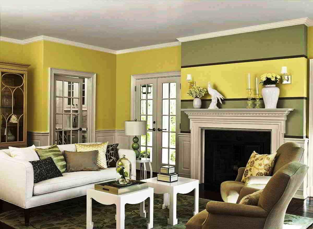 Warna Cat Interior Ruang Tamu Minimalis | Desain Rumah