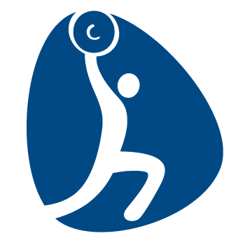 Pictogram Rio 2016 Weightlifting 350x350 px
