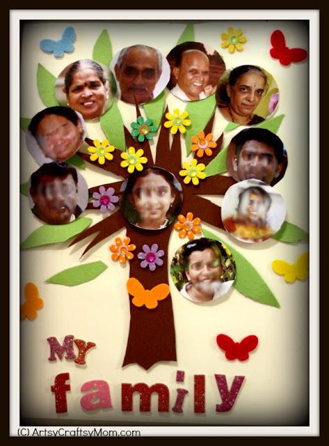 Family Collage DIY Craft