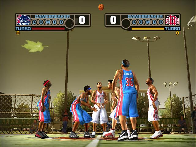 NBA Street V3 PS2 GAME ISO Gameplay 1