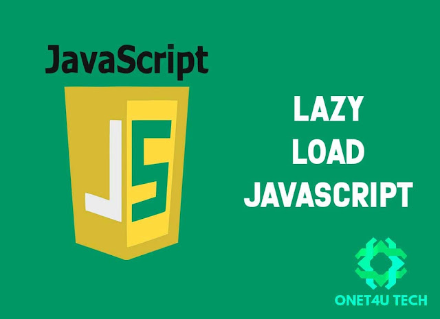 Cara Penggunaan Lazy Load JavaScript External