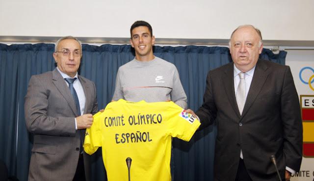 El Villarrreal patrocinará al saltador Pablo Torrijos