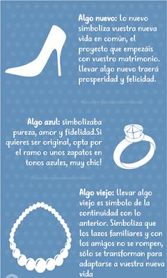 lo que la novia debe usar en el dia de la boda