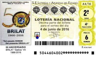 loteria nacional 4 junio 2016