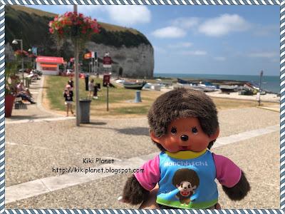 kiki monchhichi yport normandie plage toys vintage