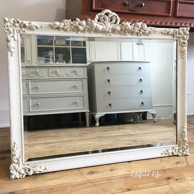 Stunning vintage mirror