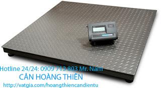 cân sàn yaohua 1 tấn giá rẻ