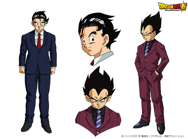 dragon ball super new artworks of goku and vegeta