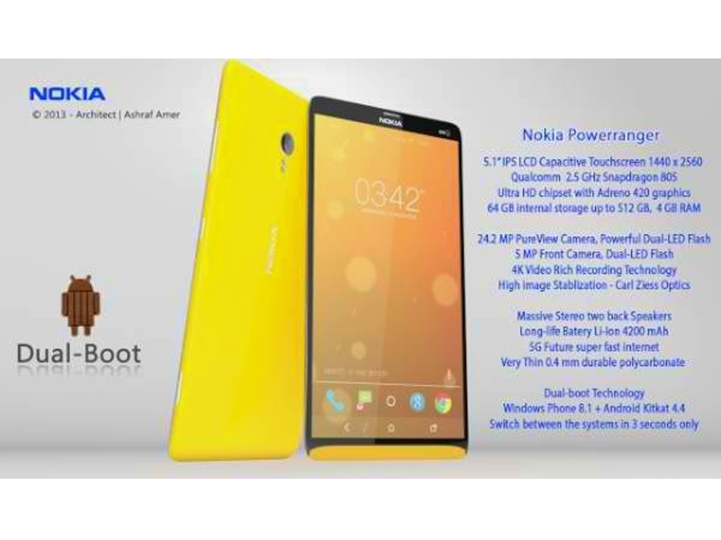 Nokia, to have Dual Boot Android and Windows Devices