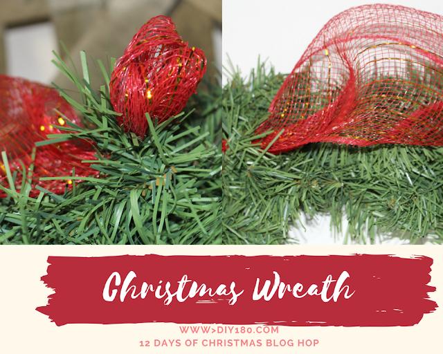 Christmas Wreath Dollar Store