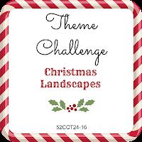 52CCT theme challenge - Christmas Landscapes