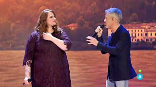 Sergio Dalma e Irene Caruncho canta Tu y Yo. Final La Voz