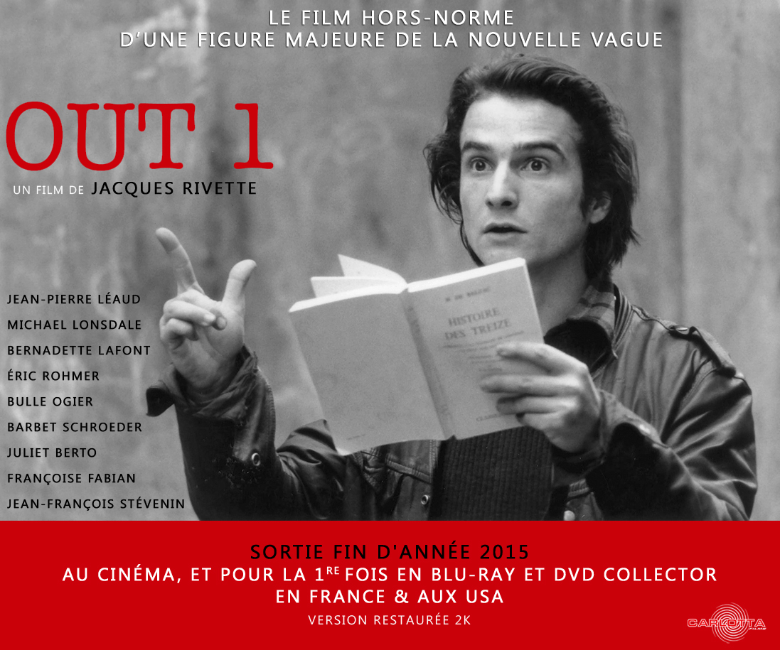 Out 1 and Jacques Rivette R.I.P.
