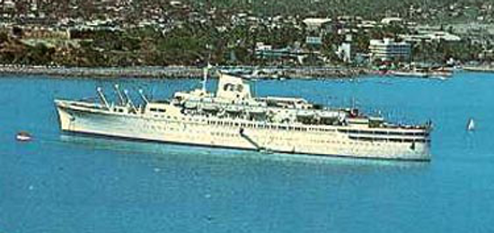 Princess Cruises - Princess Carla 1968