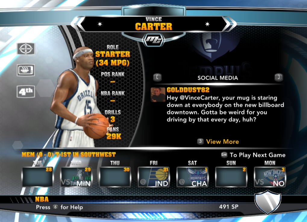 nba 2k14 Vince Carter (Memphis) mycareer patch download hoopsvilla