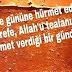 Arefe günü mesajları,arefe mesajları sözler