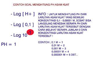 Cara menghitung PH