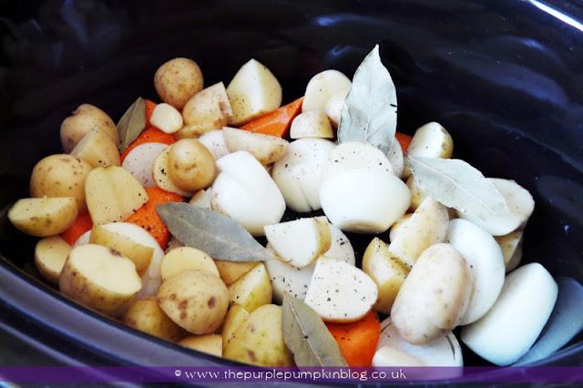 Slow Cooker Autumn Ham Casserole at The Purple Pumpkin Blog