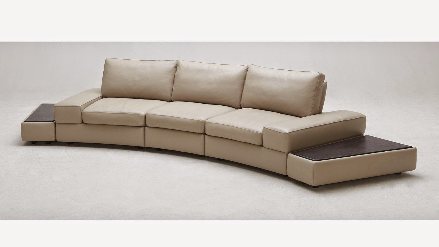Curved sofa website reviews mid century modern curved for Modern loveseat