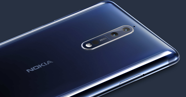 Nokia 8 flagship is Official With the ZEISS Optics and Outdated Design