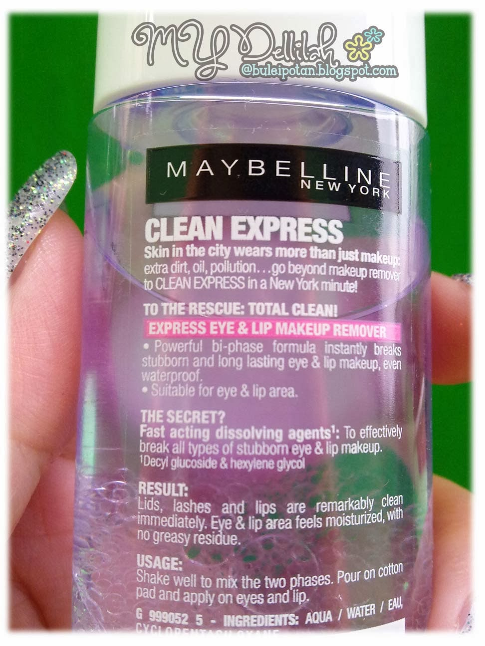 MAYBELLINE CLEAN EXPREES TOTAL CLEAN.