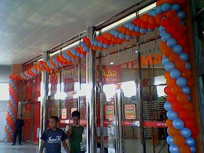 Dekorasi Balon, Gate Balon