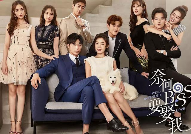 Ling Yizhou makan bersama Xia Lin dan mendengar desas Sinopsis Well Intended Love Episode 5 - 6