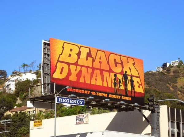 Black Dynamite season 2 billboard