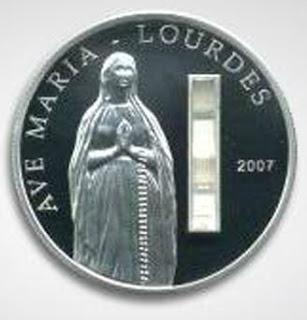 Uang Koin Perak PLUS Bonus Air Suci dari Kep. Palau