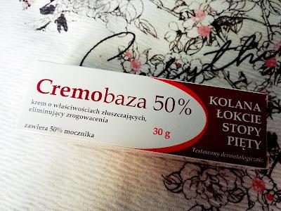 Recenzja: Cremobaza 50% mocznik- Krem o właściwościach złuszczających, eliminujący zrogowacenia- Farmapol