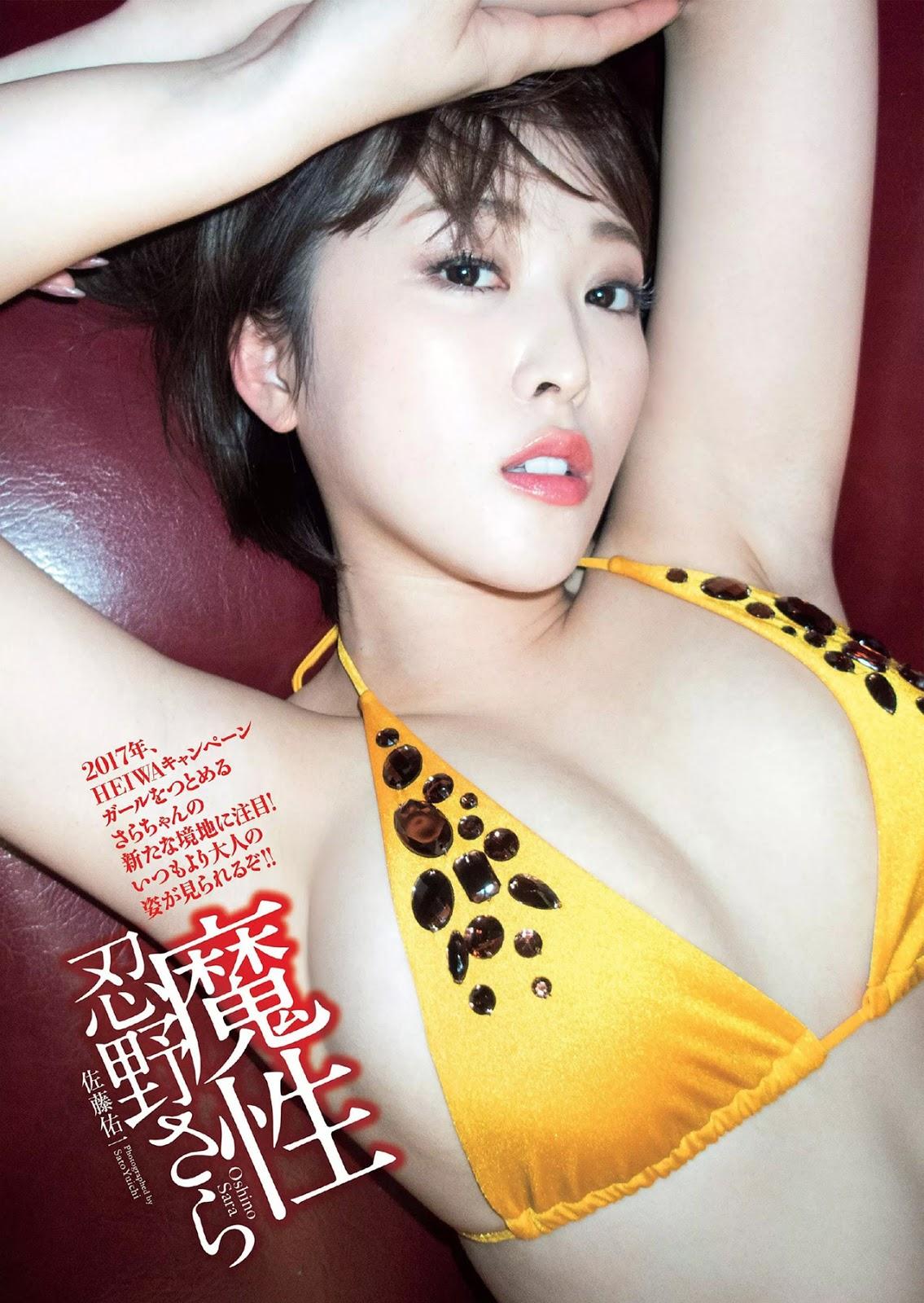 Sara Oshino 忍野さら, Weekly Playboy 2017 No.49 (週刊プレイボーイ 2017年49号)