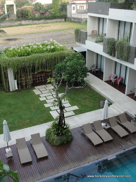 exterior of Vasanti Seminyak Resort Bali