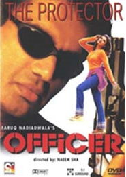 Poster Of Officer 2001 720p Hindi HDRip Full Movie Download