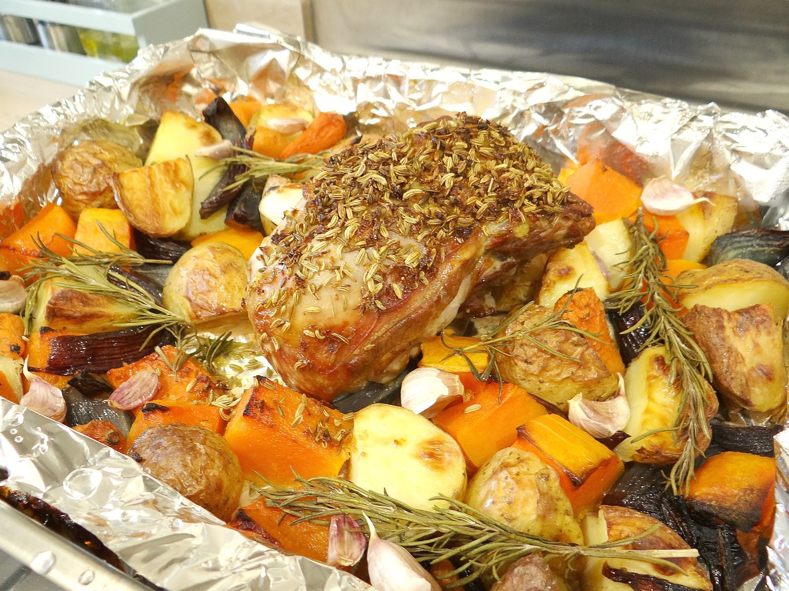 Easter Roast, Roast Leg of Lamb, New Zealand Lamb