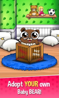 Download Happy Bear Virtual Pet Game App
