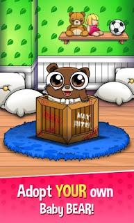 Download Happy Bear Virtual Pet Game App