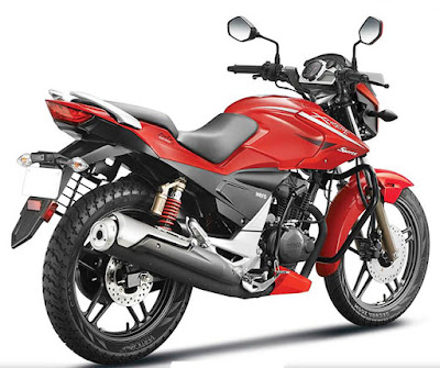 Hero Xtreme Sports rear tyre hd pictures