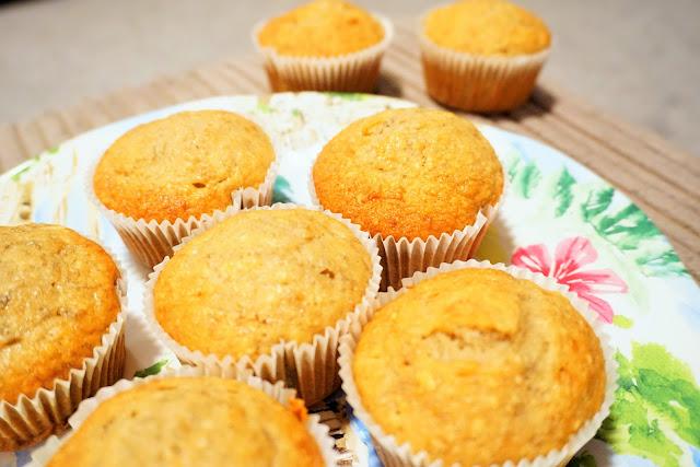 baking, banana muffins, food bloggers, italy,