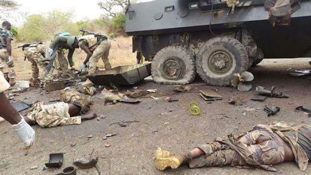 Image result for ATTACK ON TROOPS LOCATION IN JILLI YOBE STATE