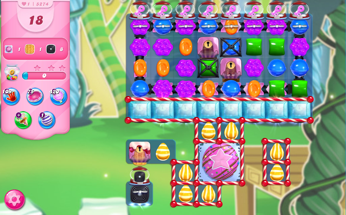 Candy Crush Saga level 5274