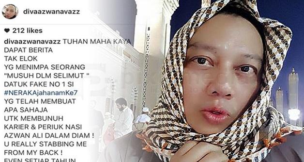 PUAKA BETUL BIBIR DIA NIE: Ibu Paknil Meninggal Dunia, Azwan Ali Sindir Di Makkah??