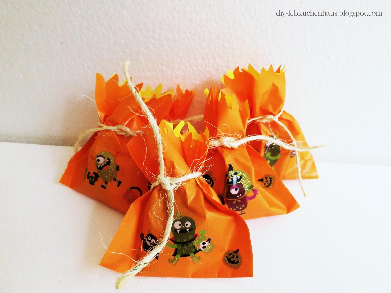 Gunstige Halloween Deko Basteln Geschenktuten Fur Kinder