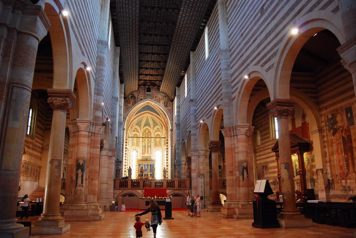 nef basilique San Zeno